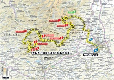 Tour de France 2019 in de Vogezen