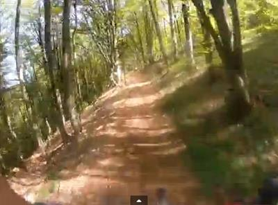 MTB video afdaling Grand Ballon Vogezen