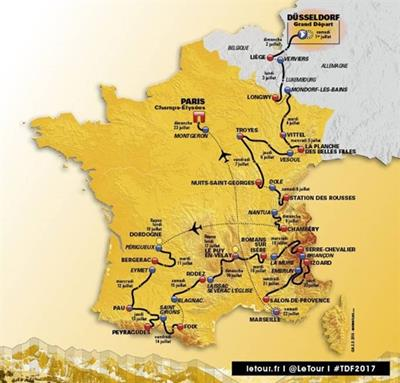 Tour de France 2017 in de Vogezen